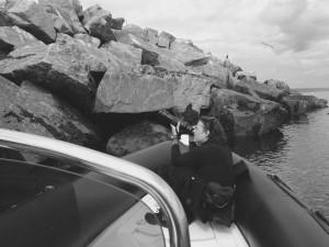 Filmer les cormorans en se rendant plonger