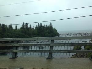 une autre rivière se jetant dans le Saint-Laurent