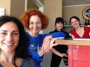 Avec Chantal, Vickie et Georgine du Macareux dodu