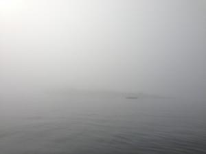 la vigie dans la brume