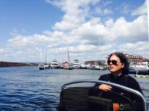 La marina de Sept-Iles sous le soleil