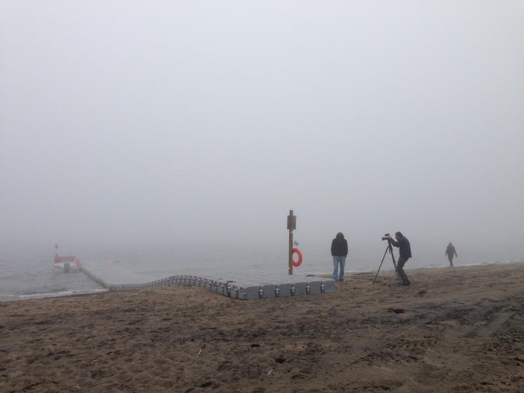 La brume de la Minganie